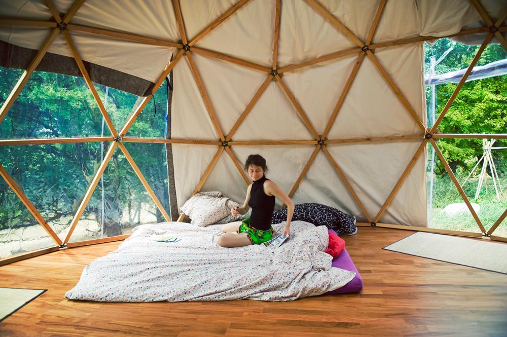 Dôme géodésique,  comment en construire à moins de 200€?